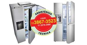 assistencia manutencao refrigerador side by side